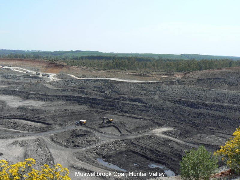 Muswellbrook Coal Mine